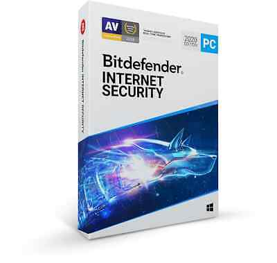 Bitdefender Internet Security 2020 - 3 PC 1095 Days Validity