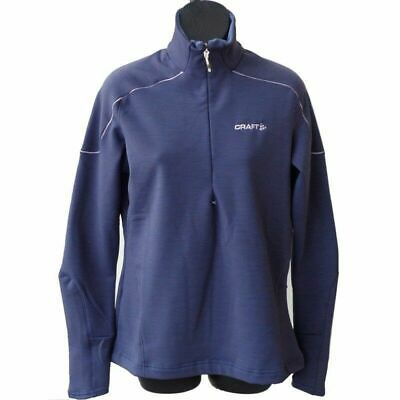 Craft Woolstretch Performance Layer 2 Ladies Pullover - Ideal For Bikers!