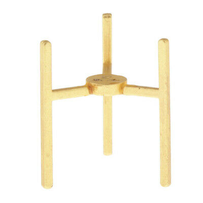 Dollhouse Miniature Wall Paper Towel Holder in Wood ~ IM65255