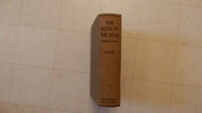 1949 The Book Of The Dead By Sir Wallis Budge