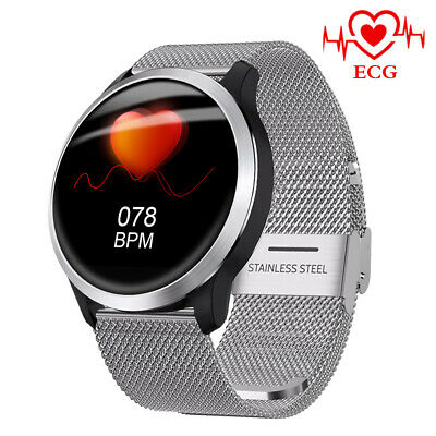 LEMFO smart watch ECG PPG etanche blood pressure monitor Android ios Montre
