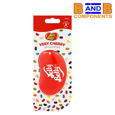 Jelly Belly VERY CHERRY 3D Gel Car Air Freshener A1487