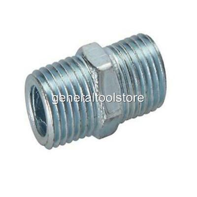 "Male To Male Air Line Fitting Equal Unions 1/4"" Bsp Threaded Fittings 25 Mm Long"