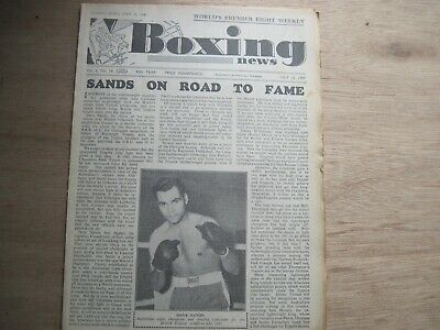 Boxin News Magazine - July 13, 1949. Vintage Issue.