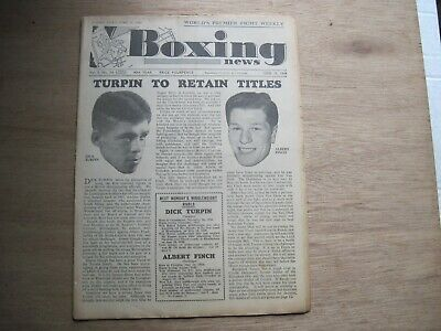 Boxing News Magazine - June 15, 1949. Vintage Issue.
