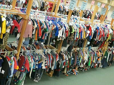 Wholesale Joblot of 75 Young Childrens Grade A USED CLOTHING