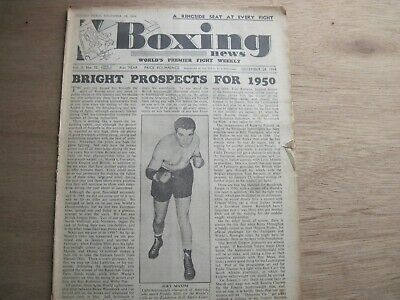 Boxing News Magazine - December 28, 1949. Vintage Issue