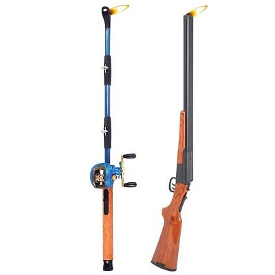 NEW Fishing Pole & Shotgun BBQ Grill Fireplace Lighter - 15 Inch Child Resistant