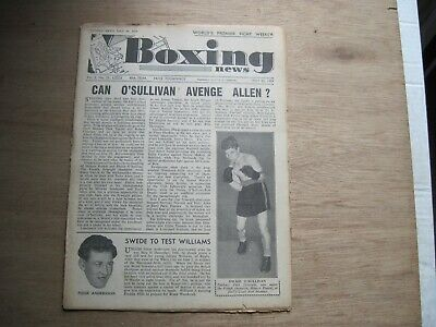 Boxing News Magazine - May 25, 1949. Vintage Issue.