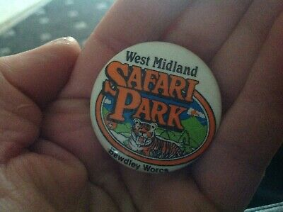 Vintage Badge West Midland Safari Park