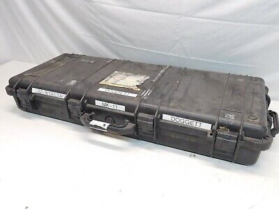Military Surplus Pelican 1700 Gun/Equipment Case w/ High Density Foam (Black)