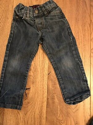 Boys Straight Leg Urban Rascals Jeans, Age 2 Yrs, Adjustable Waist,