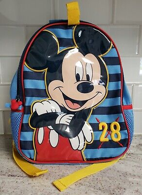 Disney Mickey Mouse Club House Boys Kids Toddler Backpack Preschool Book bag TOY