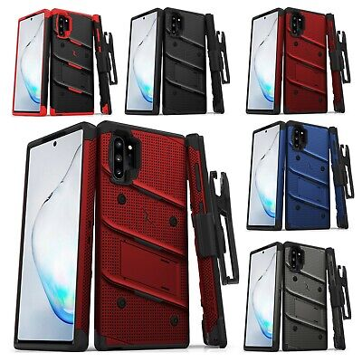 For Samsung Note 10 PLUS Military Grade Case Holster BOLT Stand Kickstand Cover