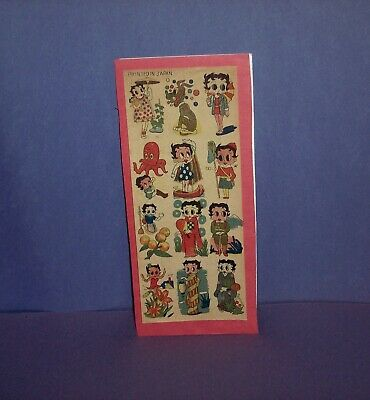 Betty Boop Dictionary Art Print Poster Picture Vintage Book Collectible
