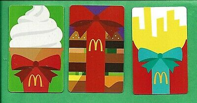 2015 McDonalds Arch Card Gift Cards No Value