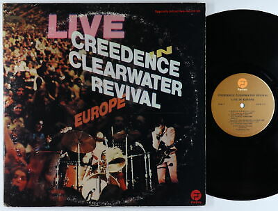 Creedence Clearwater Revival - Live In Europe 2xLP - Fantasy