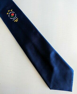 Rugby tie Triple Crown Winners Grand Slam Champions Calcutta Cup England 1980