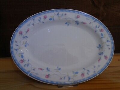Johnson Brothers St. Malo oval meat/steak plate. Microwave and dishwasher safe.