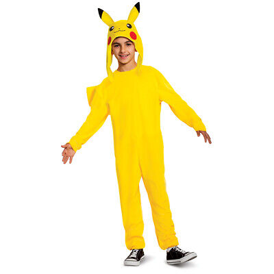 Kids Pikachu Deluxe Pokemon One Piece Costume