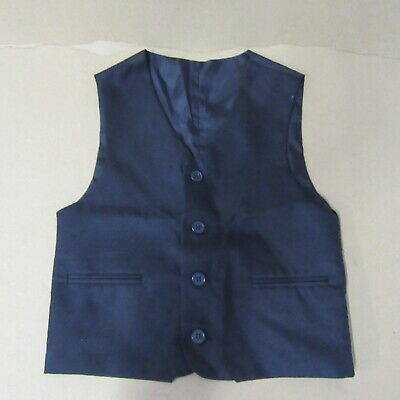 Wedding Boys Waistcoat  Navy  Formal Special  Occasions  Wedding Day  Age 5  Sui