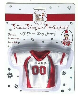 Claus Couture Collection Game Day Jersey for Elf on Shelf