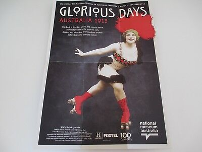 National Museum Australia Celebrate 100yr Art Brochure Poster Glorious Days 1913