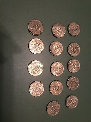 Mixed Year Lot Of Singapore Dollar Coins 14 Coins In All (Circulated