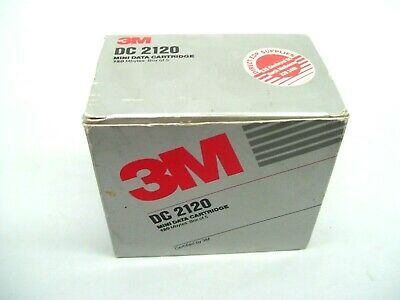 3M Dc2120 Mini Data Tape Cartridge 120Mb Genuine Original Cassette 5Pk Dc 2120