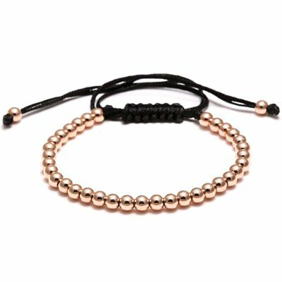 Fashion Hand-woven Bracelet Braided Bead Adjustable Women Jewelry Party Gift New