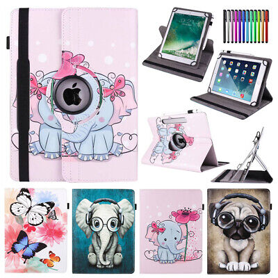 For Lenovo Tab 3 4 8 Plus E8 8.0 Tablet Rotate Universal PU Leather Cover Case