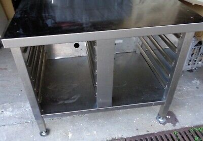 MOFFAT CSK100 Stainless Steel Combi Oven Stand Cabinet 10 Tray