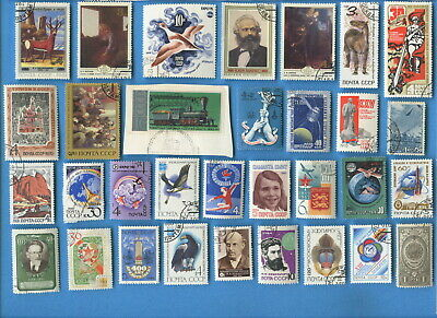 USSR Soviet Union postage stamps all dates and types 193 different [sta2449]