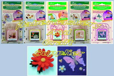 Clover Felting Applique Mold Make Your Own Felt Design Pick 1 From List