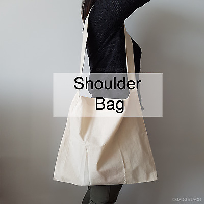 Calico Bags Natural Plain Cotton Shoulder Bags  | Eco Friendly Bags