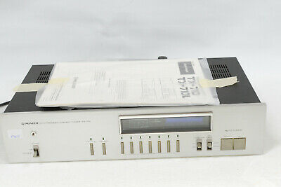 Pioneer TX-710 Synthesized Hi-Fi Stereo Tuner Componet & Manual - Vintage