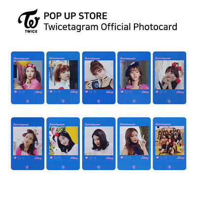 TWICE - POP UP STORE Twicetagram Likey Official Photocard