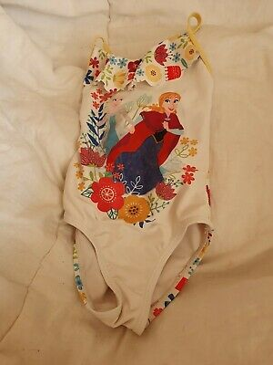 Lovely Girls disney store frozen Swimming costume Age 3 Years