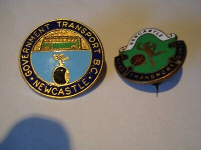 Newcastle Transport Bowling Clubs Badges