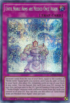 * Until Noble Arms Are Needed Once Again * Secret Rare Mp19-En225 Yugioh!