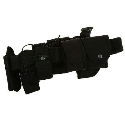 MagiDeal10 in 1 Outdoor Tactical Army Utility Belt Waist Bag Magazine Pouches