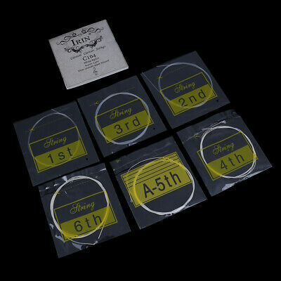 6Pcs/set Classical guitar strings nylon silver plated copper alloy strings ME