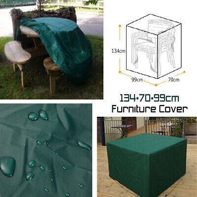 Waterproof Stacking High Chair Cover Furniture Protection Outdoor Patio