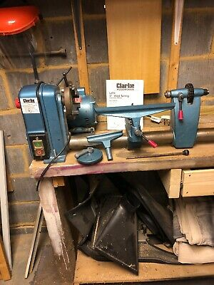 "Clarke Woodworker 37"" Wood Turning Lathe"