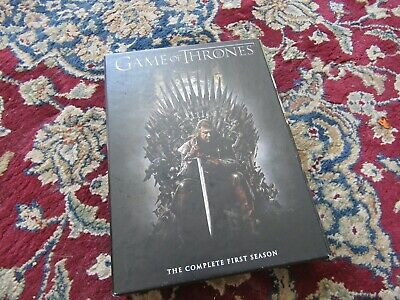Dvd Box Set  Game Of Thrones  [The Complete First Season ]