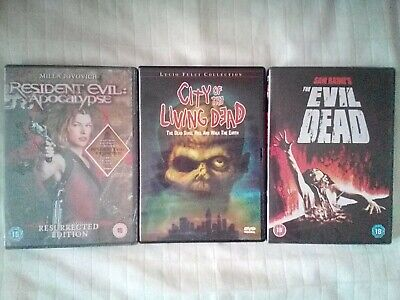 """ZOMBIE HORROR BUNDLE LOT 8 X3 """"Rare/OOP"""" Mixed NEW SEALED (DVD'S)"""