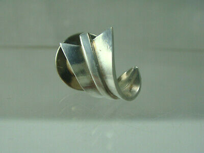 Vintage Angela Cummings Tiffany & Co Sterling Silver Pin Tie Tack Curled Arrow