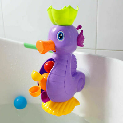 Waterfall Suction Cup Plastic Duck Kids Toys Baby Children Bath Play Soft @roots