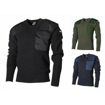 Armée Marine pull bleu NOUVEAU BW pull hiver Outdoor travail pull 48-60