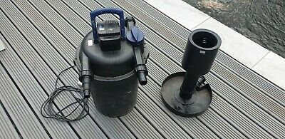 Oase FiltoClear 15000 Pond Filter With Foam Set with 11 watt working UVC lamp